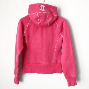 Lululemon Hot Pink Full Zip Scuba Hoodie Sweater 4